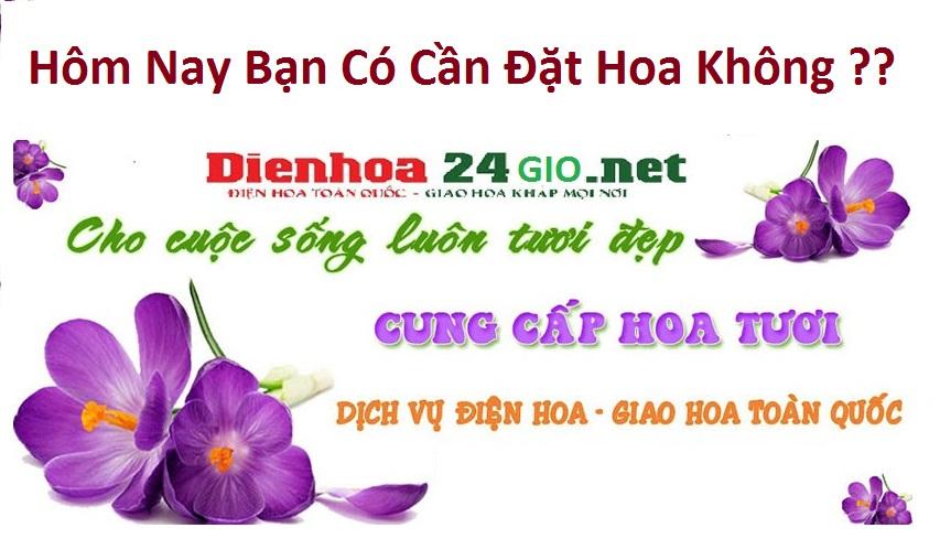 Tiệm hoa tươi Ninh Kiều